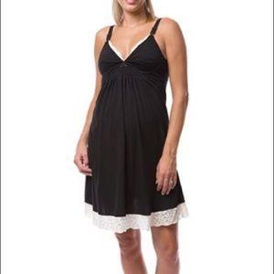 Belabumbum maternity / nursing nightgown chemise